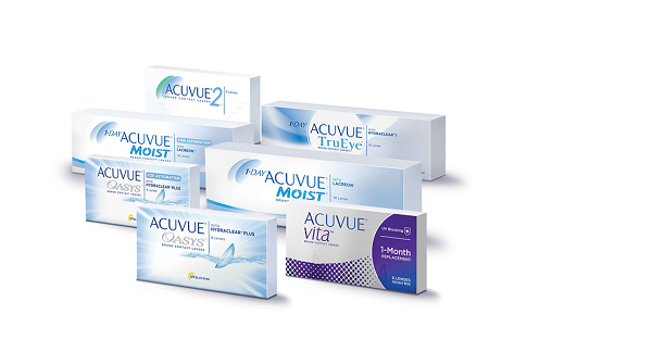 1-DAY ACUVUE® MOIST® for ASTIGMATISM