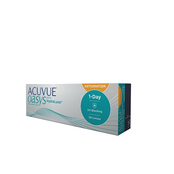ACUVUE OASYS® 1-Day for ASTIGMATISM con tecnología HydraLuxe™